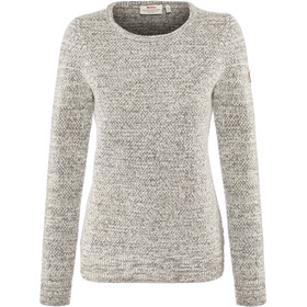 Fjällräven Övik Structure Sweater Damen egg shell-grey